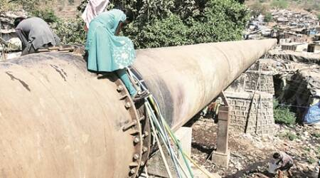 mumbai water, mumbai water pipeline, mumbai water supply, Tansa pipeline, mumbai news