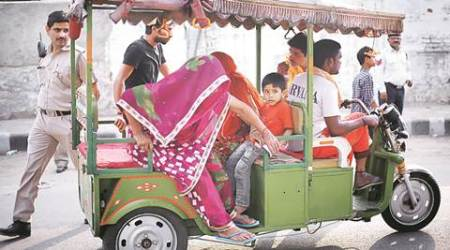 Delhi MCD bypolls: Parties hire e-rickshaws to ply voters to polling booths for free