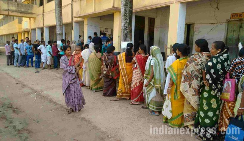 west bengal, west bengal elections, west bengal last phase polling, west bengal sixth phase polls, tmc, cooch behar, east midnapore, west bengal assembly elections, photos from west bengal elections, photos of bengal elections, cooch behar election photos