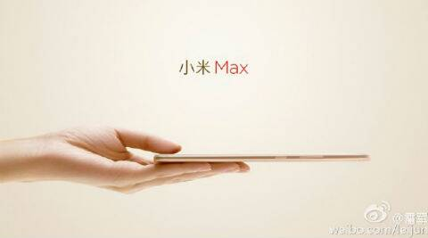 Xiaomi Mi Max with slim metal unibody teased ahead of launch