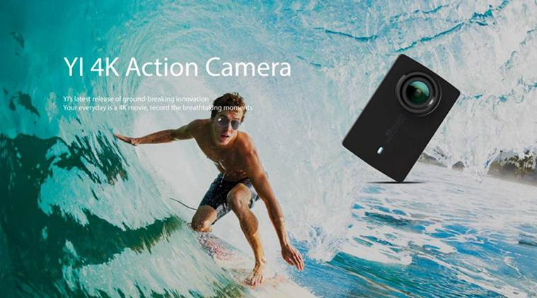 Xiaomi YI 4K Action Camera 2 is capable of shooting 4K videos at 30fps, full HD videos at 120fps and HD videos at 240fps