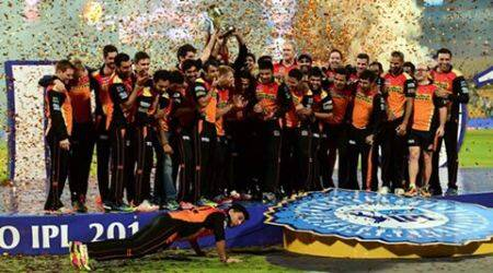 IPL 2016 Final: SRH players' continue title celebrations