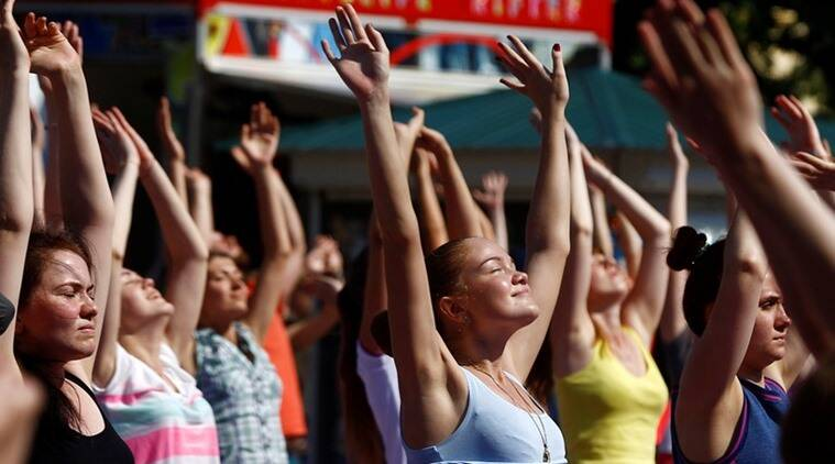 Early start to International Yoga Day for thousands of South Africans
