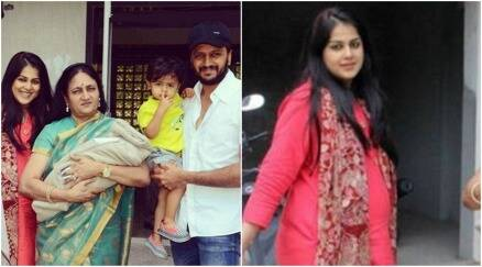 PHOTOS: Genelia D'Souza, husband Riteish Deshmukh return ...