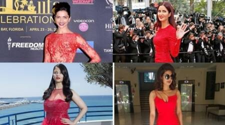 Aishwarya, Katrina, Deepika, Priyanka, Alia and more: Bollywood celebs in red