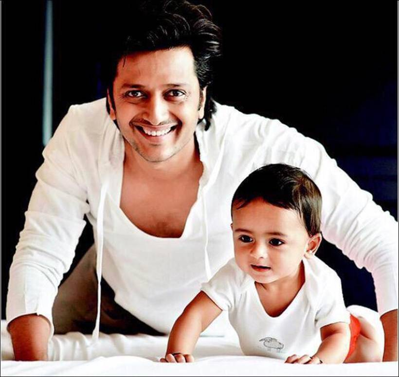 Riteish Deshmukh, Genelia D'Souza blessed with a baby boy ...