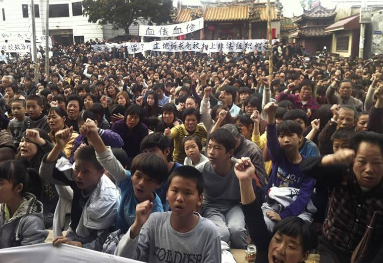 China, China protests, China Communist Party, China government, China village, Wuka village, Wukan protest, wukan leader, wukan leader arrest, Lin Zuluan, Lin Zuluan detained, China land grab, China news, world news