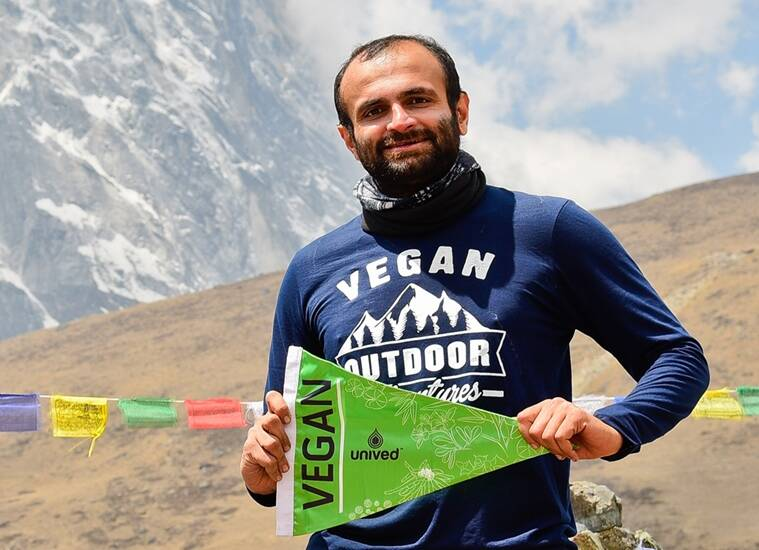 Joisher survived on vegan energy gels in camp 4, or what is better known as the Death Zone.