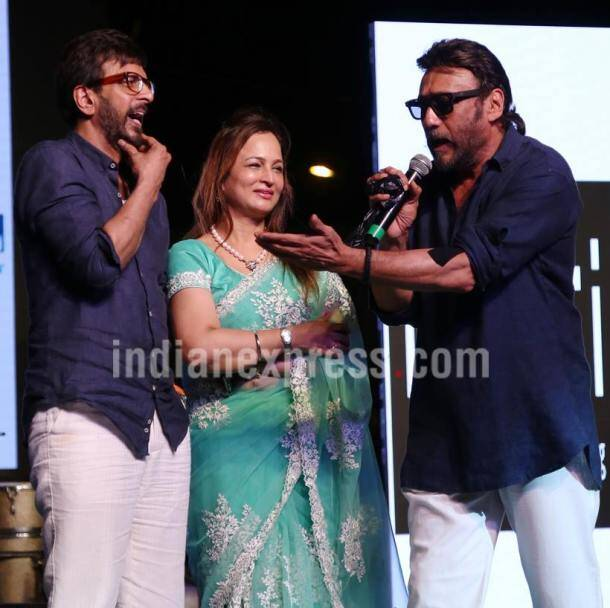 Javed Jaffery, Smita Thackeray, Jackie Shroff