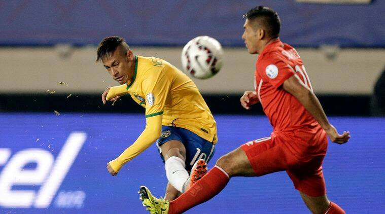Neymar will compete at the Rio Olympics, which starts in August. (Source: AP)