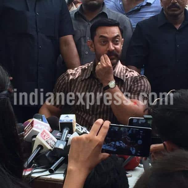 Aamir Khan, dangal, dangal shoot, Aamir Khan dangal shoot photos, Dangal shoot in Ludhiana, Aamir Khan film, Aamir Khan dangal, entertainment photos