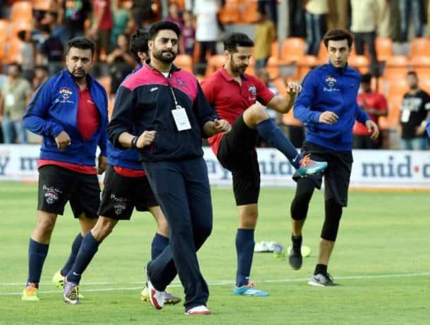 Virat Kohli, Virat Kohli football team, actors vs cricketers, cricketers actors football match, Celebrity Clasico 2016, All Stars FC, All Heart FC, Sports News, Sports