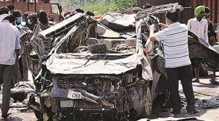 Union Transport Ministry report, accidents India, Jammu and Kashmir, Himanchal Pradesh, Haryana, Punjab, road safety, India accident victims, road kills India, India road accidents, national news, Chandigarh news, Punjab news, Haryana news, India news, latest news