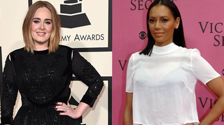 Adele, Mel B, Spice girls, Spice up your life, Adele songs, Adele concerts, Spice girls songs, Adele news, Spice girls news, Entertainment news