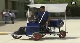 Engineering Students Claim To Have Developed Prototype Car Which Runs On Air
