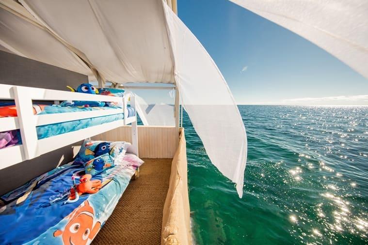 Airbnb Great Barrier Reef kids room_759