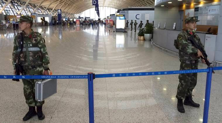 China airpost blast, Pudong airport blast, shanghai airport blast, airpost blast, china, home made explosive, china news, international news, latest news