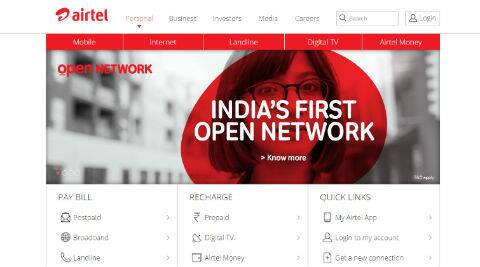 Airtel's  Open Network will show network coverage quality across India - The Indian Express