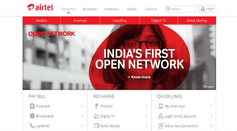 Airtel, Open network, Airtel open network, see Airtel tower, Airtel tower map, see Airtel mobile coverage, call drop, call drop Delhi, telecos, telecom, technology, technology news
