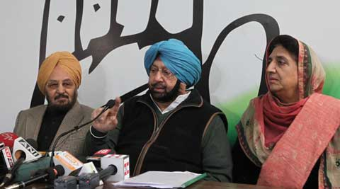 Amarinder says Badal acquired land for SYL, releases documents