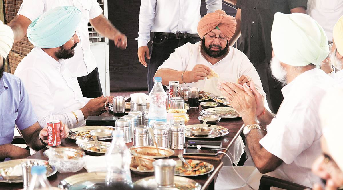 Sidhu did not attend Captain lunch