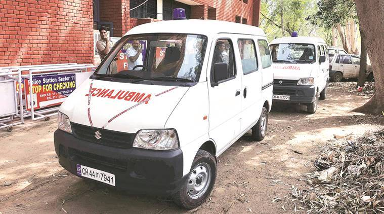 Chandigarh ambulance, Chandigarh funeral, Chandigarh dead body, dead body transportation,  Chandigarh dead body transportation