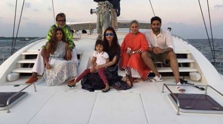 Amitabh Bachchan, Navya Naveli Nanda, Bachchan family, Abhishek bachchan, Navya Naveli, Aishwarya rai bachchan, jaya bachchan, Navya Naveli Nanda films, amitabh granddaughter, Amitabh Bachchan films, big b, amitabh, Amitabh Bachchan panama papers, Amitabh Bachchan film, Amitabh Bachchan family, Amitabh Bachchan news, entertainment news
