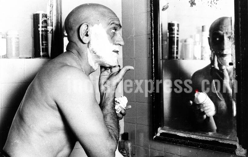 Actor Amrish Puri. Express archive photo by Rathijit Ghatak
