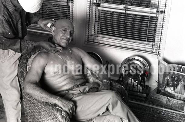 Actor Amrish Puri. Express archive photo