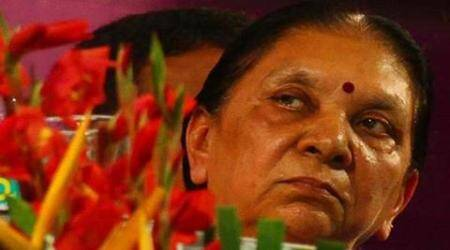 Anandiben Patel, Gujarat CM Anandiben Patel, Gujarat CM resign, Anandiben Patel resign, bjp, narendra modi, bcci president, anurag thakur, parliament, power ministry, indian express news, india news