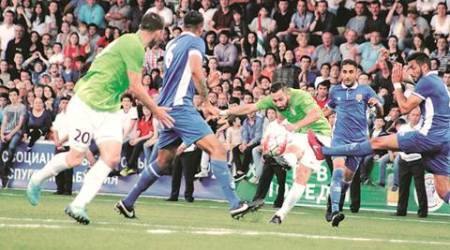 Where India and Pakistan play together: the 'un-world'Cup