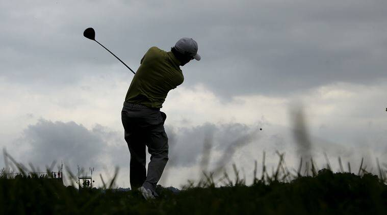 Andrew Landry is at 3 under with one hole left to complete his round.(Source: AP)