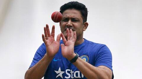 Anil Kumble sweats out in nets with Team India