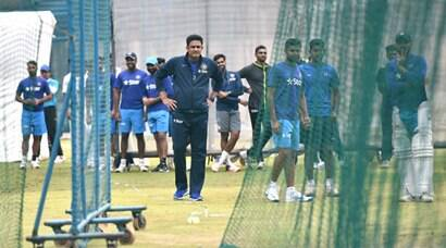 Anil Kumble, team India begin preparatory camp before West Indies tour