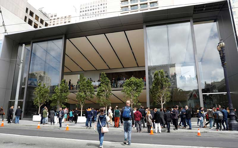 Apple, Apple Store, Apple San Francisco Store, Apple flagship store, Apple Union Square store, Apple Store India, Apple Stores in India, technology, technology news