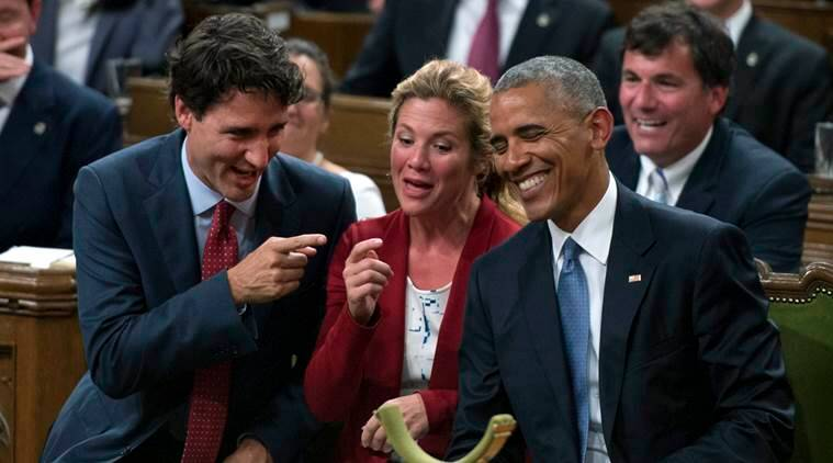 Obama tweets support for canadian pm trudeau in re election campaign