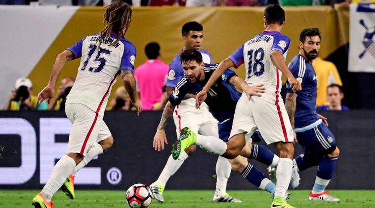 Messi Scored as Argentina beat US 4-0 and reach Copa America final. (Source: USA Today Sports)