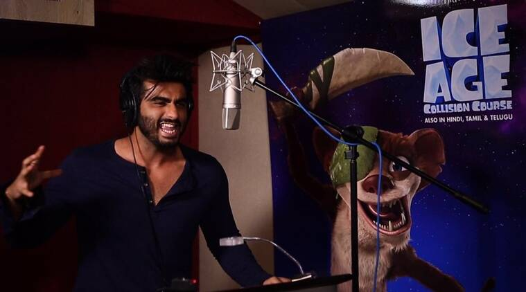 Arjun Kapoor, Ice Age: Collision Course, Half Girlfriend, Half Girlfriend film, arjun kapoor Half Girlfriend, Ice Age: Collision Course hindi, Arjun Kapoor voiceover debut, Arjun Kapoor ice age, Arjun Kapoor news, Arjun Kapoor films, Arjun Kapoor upcoming film, entertainment news