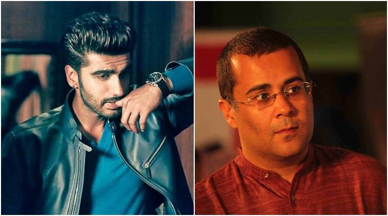 Chetan Bhagat says it's a working birthday for actor Arjun Kapoor.