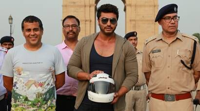 Arjun Kapoor, author Chetan Bhagat support Road Safety Awareness Campaign in Delhi