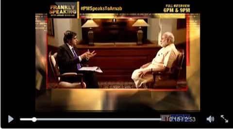 modi interview, arnab interviews modi, arnab goswami, narendra modi, arnab goswami Narendra Modi interview, Arnab Modi interview, frankly speaking, modi times now, modi times now interview