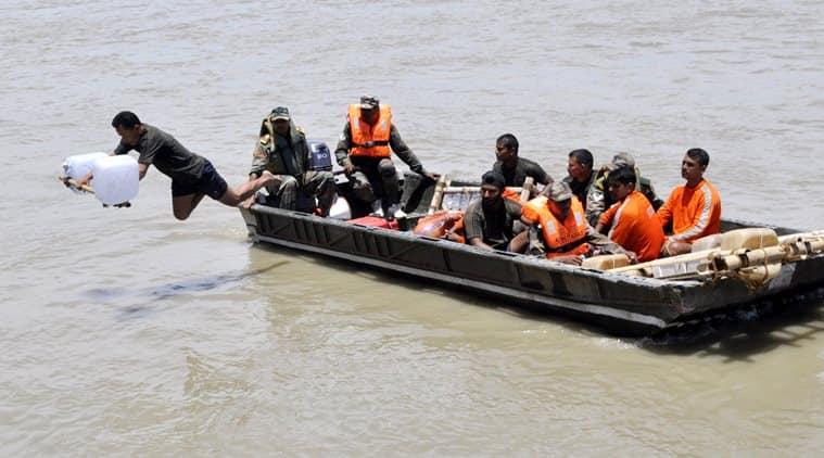 brahmaptra floods, brahmaputra water, disaster management assam, sarbananda sonowal, bjp assam
