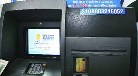 New SBI ATM at PU: This machine gains currency, dispenses notes of Rs 100 only