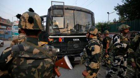 BSF convoy, BSF personnel, Kashmir attack, Kashmir hizbul attack, hizbul bsf, bsf hizbul, J&K news, Kashmir news, India news