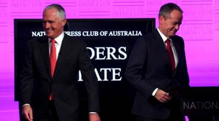 Australia: Malcolm Turnbull and Bill Shorten on country's first-ever online electiondebate