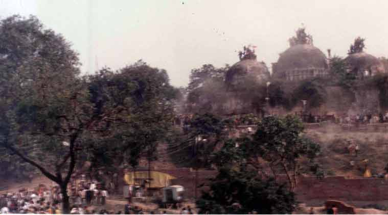 Babri Masjid was built by demolishing temple: Shia Waqf Board to SC