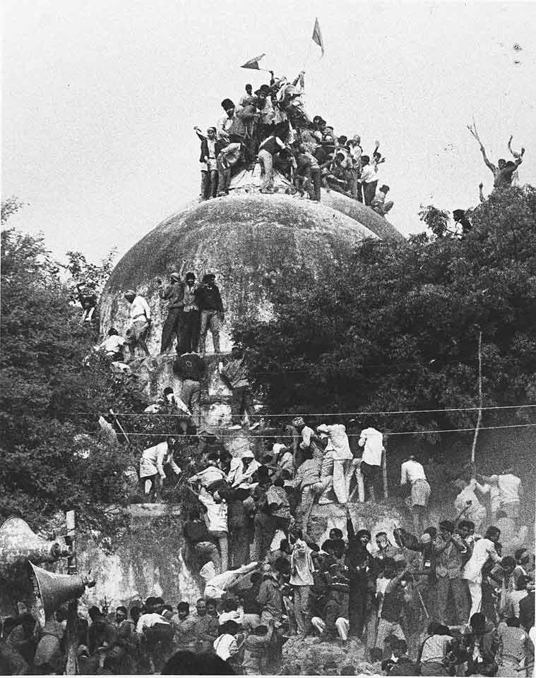 narasimha rao, p v narasimha rao, Babri Masjid, Babri Masjid demolition, Hindu kar sevaks, VHP Hindu kar sevaks, Vishwa Hindu Parishad, K Srinath Reddy, Vishwa Hindu Parishad volunteers, hindu muslim Babri Masjid, hindu Babri Masjid demolition, hindu fanaticism, india news