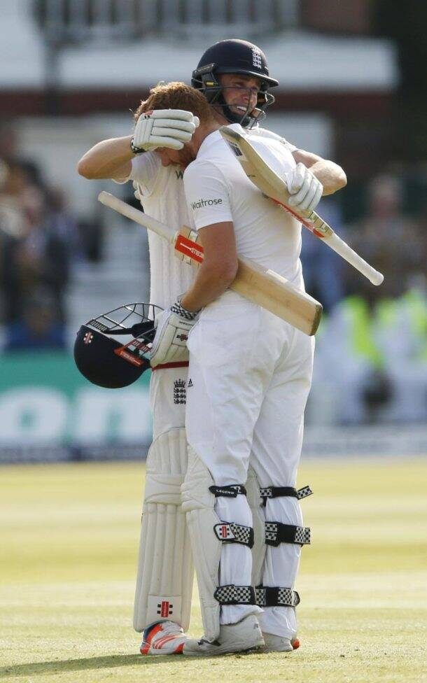 Jonny Bairstow and Alastair Cook lead England recovery on Day 1 against Sri Lanka at Lord's