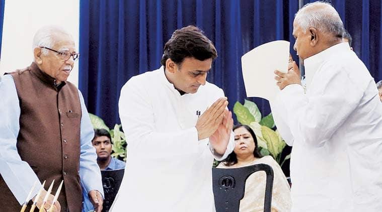 akhilesh yadav, uttar pradesh, uttar pradesh cabinet, up cabinet reshuffle, akhilesh cabinet reshuffle, balram yadav, uttar pradesh news, india news, latest news