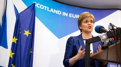 Brexit, United Kingdom, EU referendum, EU polls, EU vote, Scottish leader Nicola Sturgeon, Scotland EU, EU bloc, Brussels, latest news, World News